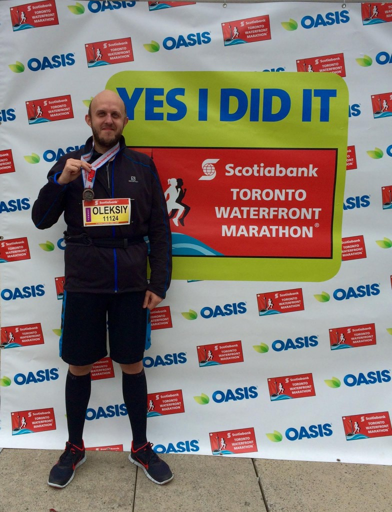 Me After My First Half-Marathon