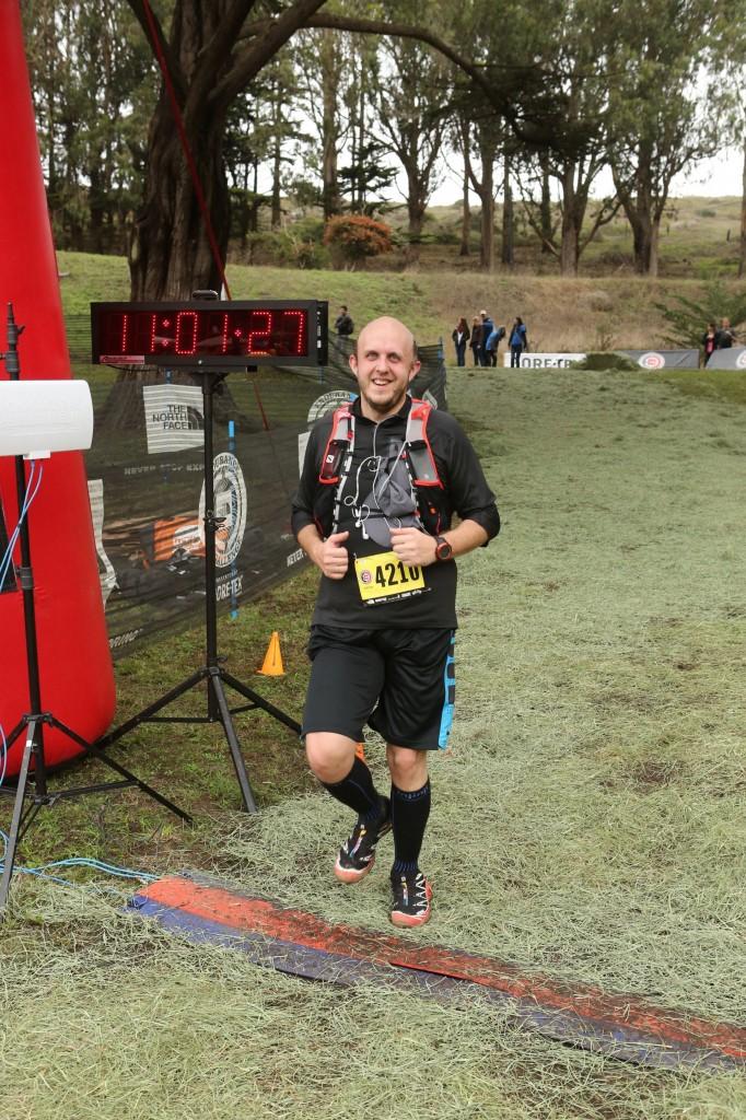 ECSCA Half-Marathon 2014 Finish